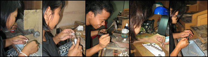 Factory of Binar Silver located on Bali